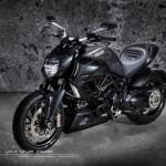 Vẻ đẹp gai góc của siêu xe Môtô Ducati Diavel Carbon