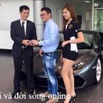 Đại gia Lê Quốc Hưng mua siêu xe Lamborghini Huracan chính hãng