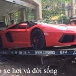 Đại gia Hải Phòng mua siêu xe Lamborghini Aventador mui trần