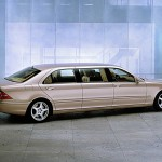 Ngắm nội thất xe siêu sang Mercedes S600 Pullman của tổng thống Nga