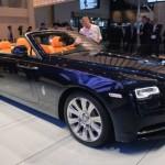 Ngắm chi tiết xe siêu sang mui trần Rolls-Royce Dawn