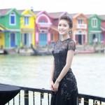 Á hậu Huyền My sang Myanmar đóng phim