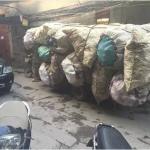 Những người vận chuyển trên đường phố Hà Nội