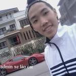 Thanh niên chụp ảnh bên siêu xe Ferrari Lào Cai không phải chủ xe