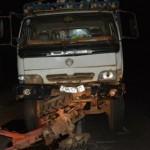 Xe tải tông vào xe công nông làm 5 người chết 9 người bị thương