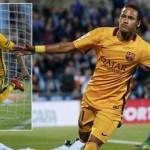 Barca giữ phong độ tốt thắng dễ dàng Getafe
