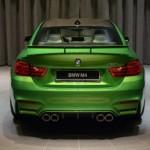 Ngắm tuyệt phẩm BMW M4 coupe độ xanh rất đẹp