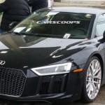"""Siêu xe Audi R8 thế hệ mới 2017 lộ ảnh không """"hóa trang"""""""