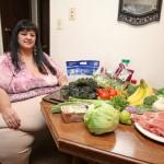 Người yêu cho ăn nhiều quá nặng 327kg