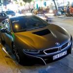 Siêu xe BMW i8 màu đen nhám của đại gia Long An