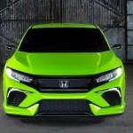 Honda Civic Coupe màu xanh nõn chuối thể thao