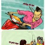 Không nên đua xe máy quá nhanh