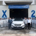 Huyndai Santa Fe lắp ráp tại Việt Nam tròn 4000 xe