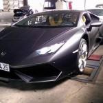 Siêu xe Lamborghini Huracan chính hãng tại Việt Nam đã gắn biển