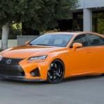 Ngắm xe sang Lexus GS-F độ màu da cam chính hãng