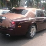 Rolls royce Phantom lửa thiêng giá gần 60 tỷ đồng hoành tráng trên phố