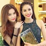 Hoa hậu Phạm Hương đọ dáng cùng chị Hồ Ngọc Hà