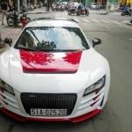 Ngắm siêu xe Audi R8 độ thân vỏ giá gần 700 triệu