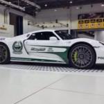 Cảnh sát Dubai mua thêm siêu xe triệu đô Porsche 918 Spyder