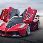 Siêu xe Ferrari FXX K khoe sức mạnh tại đường đua Mugello