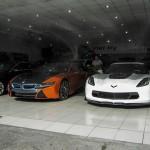 Cận cảnh siêu xe Chevrolet Corvette Z06 tại showroom Việt Nam