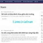 tinmoivietnam.net chuyên trang cập nhật tin tức hấp dẫn