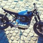 Xe BMW K100 đời cũ nhưng chất chơi