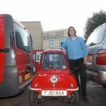 Ngắm xe ô tô mini bé nhất thế giới