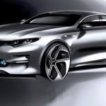 Ngắm xe concept của Kia K5 hoàn toàn mới