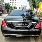 Siêu xe Maybach S600 giá 11 tỷ xuất hiện tại phố núi Lào Cai