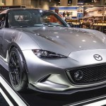 Cận cảnh xe Mazda MX-5 đời mới trên sàn