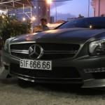 Ngắm xe Mercedes SL350 độ biển ngũ quý 6 siêu khủng