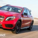 Lộ ảnh phiên bản cao cấp Mercedes GLA 45 AMG 2016 giá 3 tỷ