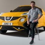 Xe Nissan Juke làm bằng giấy siêu độc
