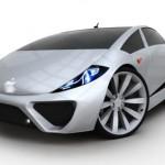 Hình dáng chiếc xe ý tưởng Apple Car của Steve Jobs