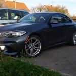 Xe sang BMW M2 màu đen trầm lặng