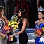 Tân hoa hậu hoàn vũ xin lỗi hoa hậu Colombia vì sự cố