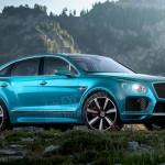 Lộ ảnh dựng thiết kế siêu xe SUV Bentley Bentayga Coupe