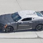Phát hiện ra Chevrolet Camaro ZL1 2017 mui trần đang chạy thử