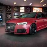 Ngắm siêu xe hack back Audi RS3 độ khủng bởi ABT Sportsline