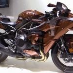 Siêu xe máy Kawasaki Ninja H2 đẹp đến mức khó tả