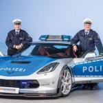 Chi tiết siêu xe Chevrolet Corvette Stingray phiên bản cảnh sát