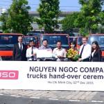 Công ty Nguyễn Ngọc mua liền lúc 30 xe tải FUSO