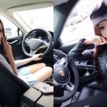 Cô gái nghiện chụp ảnh tự sướng với siêu xe