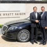 Khách sạn Park Hyatt Saigon mua Maybach S600 11 tỷ đón khách