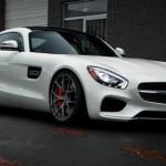 Siêu xe thể thao Mercedes AMG GTS màu trắng tuyệt đẹp