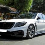 Ngắm Mercedes S500 độ của đại gia Cường đôla trên phố