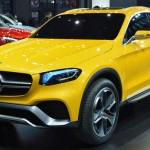 Mercedes GLC Coupe lộ ảnh đang sản xuất thân xe