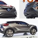 Xe nhỏ giá rẻ Scion C-HR sắp ra mắt tại Detroit 2016