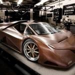 Xuất hiện siêu xe làm bằng gỗ Splinter